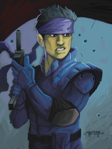 art-solidsnake